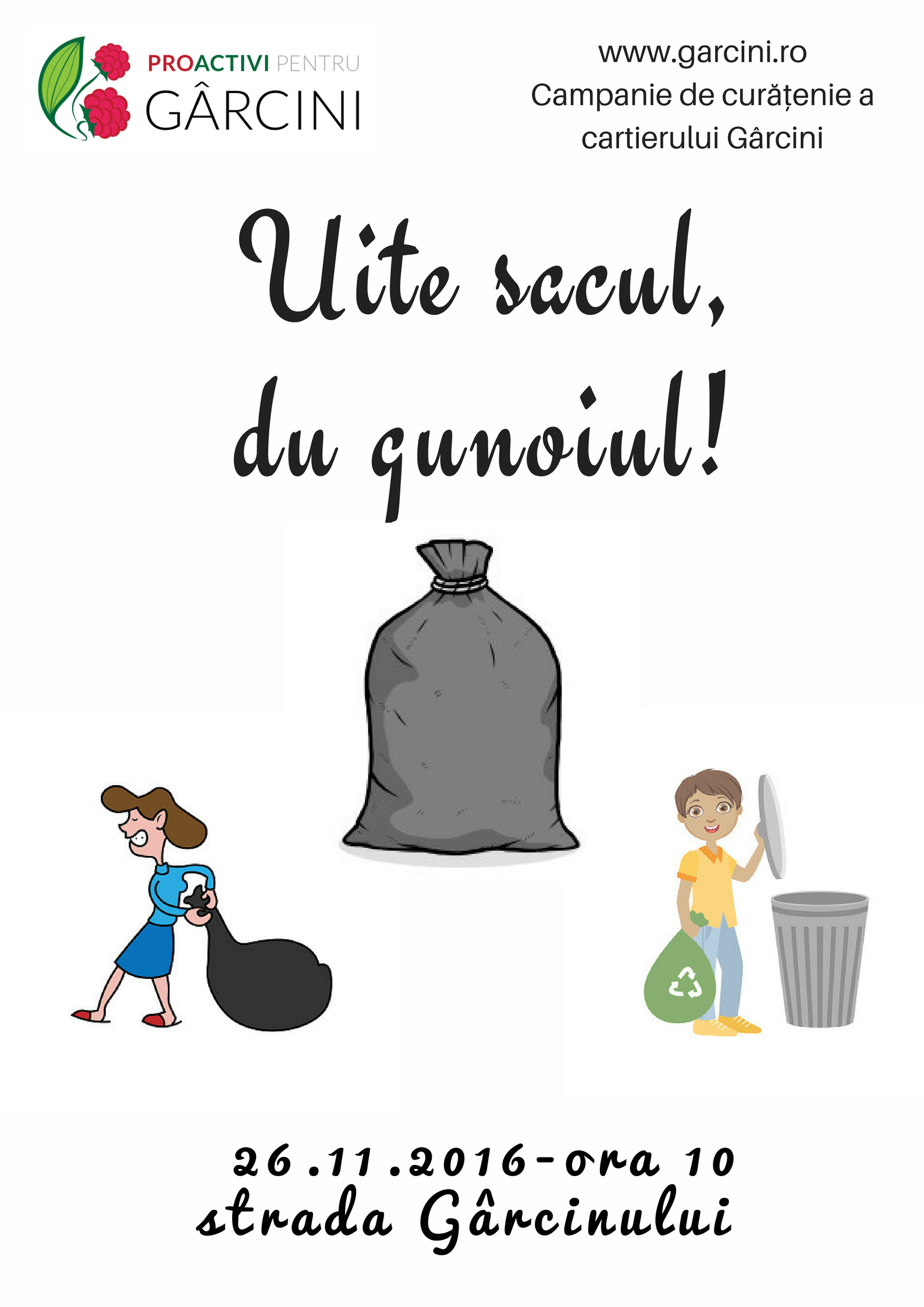 afis proactivi-du gunoiul